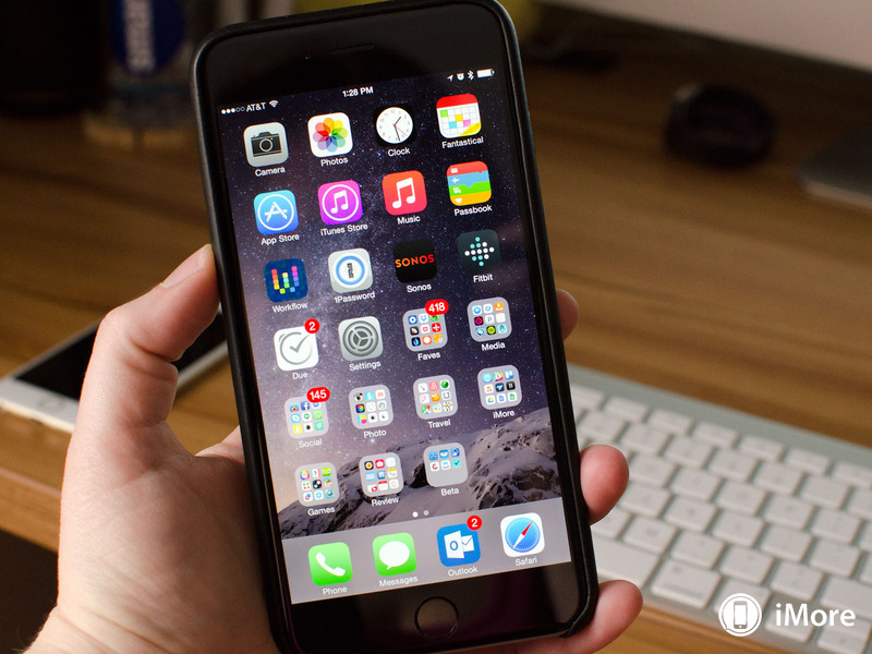 6 Plus On Iphone Stays Apple Screen: How To Use Your IPhone 6 Plus One-handed