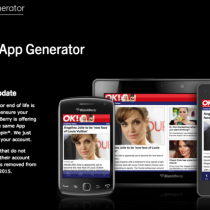 BlackBerry-App-Generator