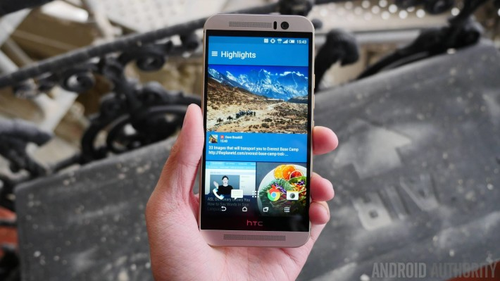64GB HTC One M9 confirmed during Taiwan launch