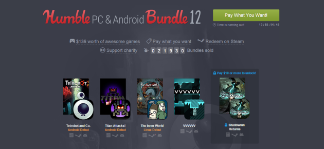Humble Bundle Pinterest: New Humble Bundle 12 Features Seven Android Games, Plus PC