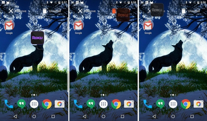 Diving into M: Launcher lets you uninstall from homescreen