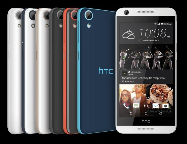 HTC is bringing its mid-range Desire 626/626s, 526 and 520 to the