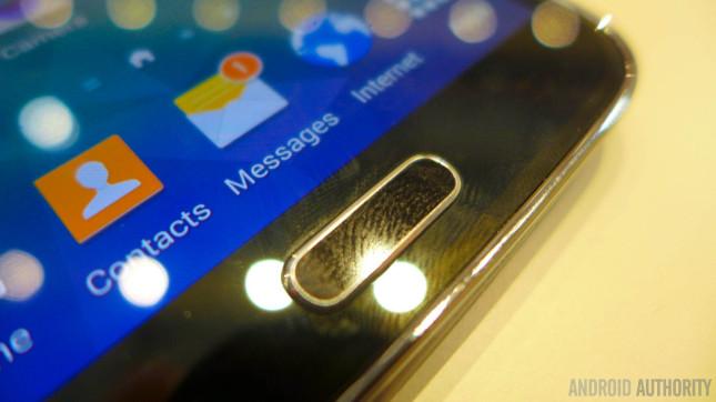 Samsung Galaxy S5 fingerprint scanner 2