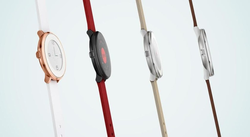 Pebble announces its first round smartwatch, the Pebble ...