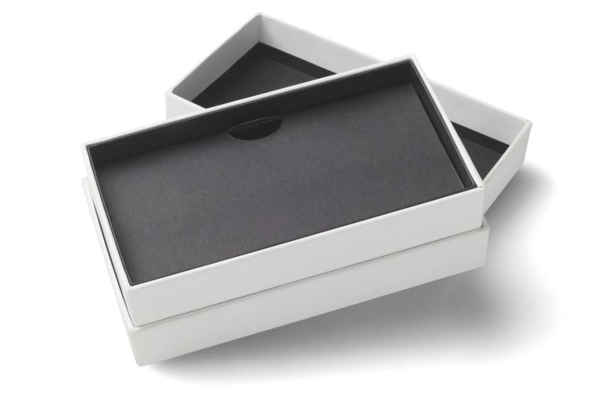 Empty Smartphone Cardboard Packaging
