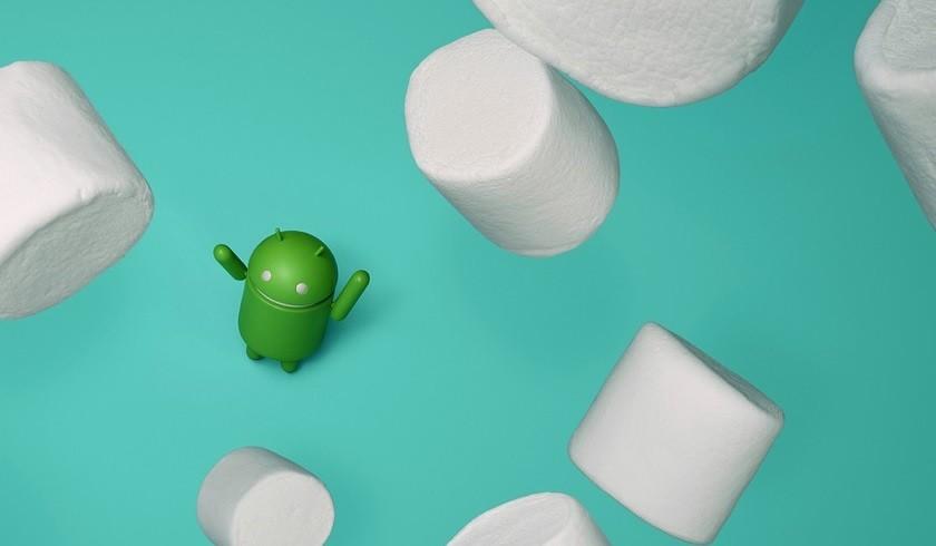 Android 6 Marshmallow raining crop