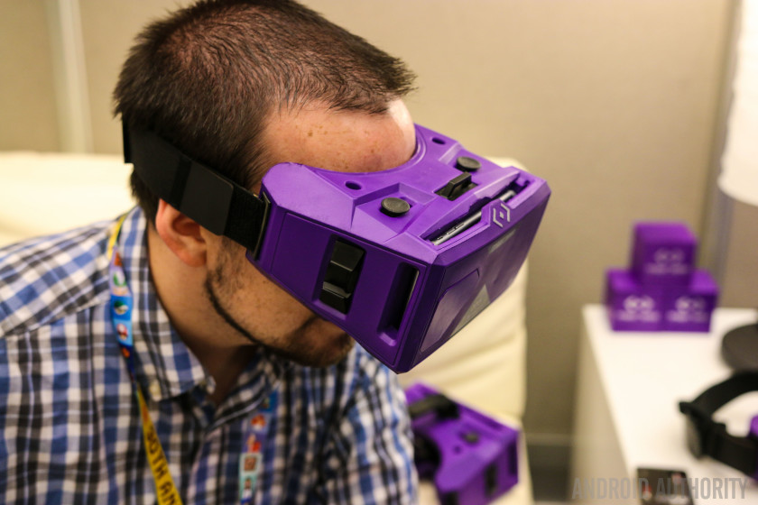 "Merge VR is one of the more ""premium"" Cardboard viewers out there."