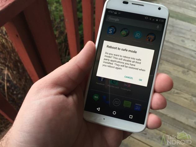 how to boot your android device into safe mode aivanet