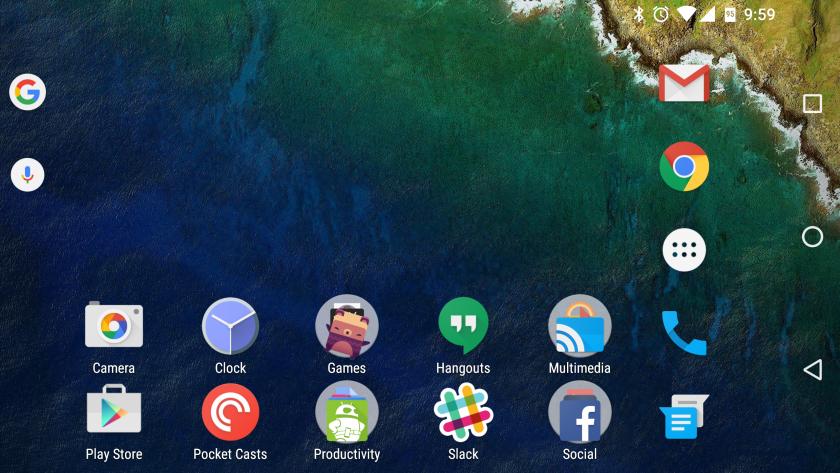 Google Now Launcher beta 1