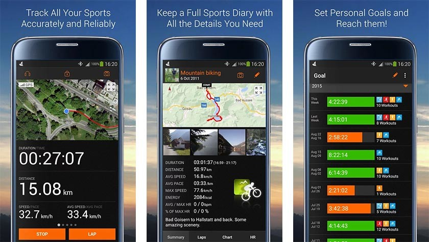 Sports Tracker Running Cycling Best Android Fitness Apps And Workout