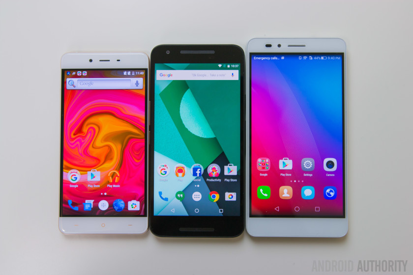 Honor 5X vs Nexus 5X vs OnePlus X-11