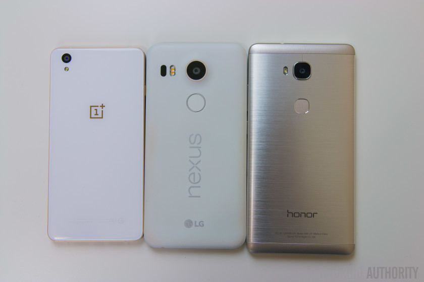 Honor 5X vs Nexus 5X vs OnePlus X-6