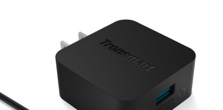 Tronsmart's Quick Charge 2.0 wall charger is just $5