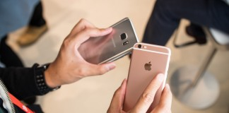 Samsung Galaxy S7 vs iPhone 6s hands on comparison