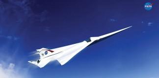 NASA picks a supersonic jet design for its X-plane initiative
