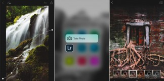 Adobe Lightroom mobile for iOS handles full resolution images