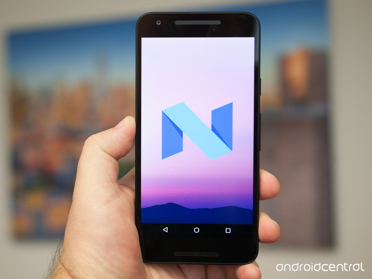 Here S The New Android N Wallpaper AIVAnet