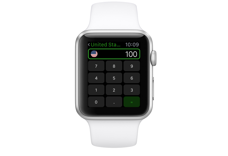 Apple Watch Currency