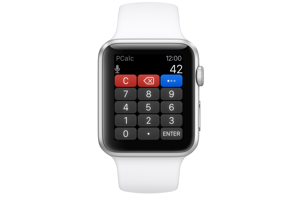 Apple Watch PCalc