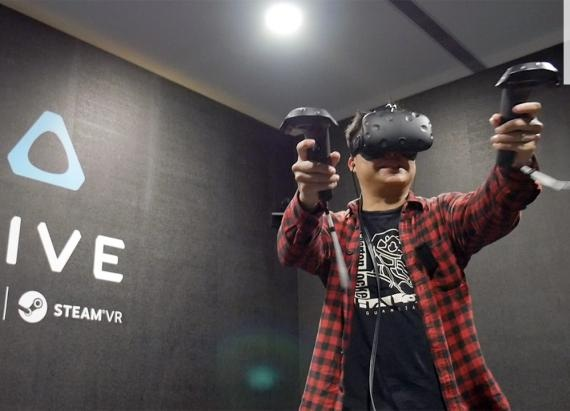 These New HTC Vive VR Games Got My Adrenaline Pumping