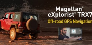 Navigate off road with the Magellan eXplorist TRX7