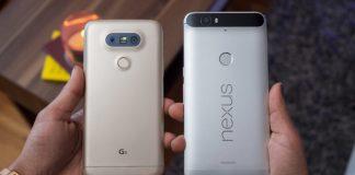 LG G5 vs Nexus 6P