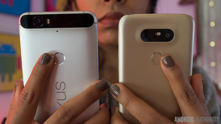 LG G5 vs Nexus 6P 2 of 14