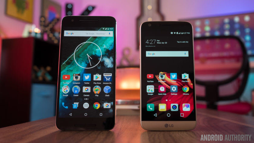 LG G5 vs Nexus 6P 7 of 14