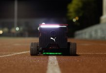 Puma's robotic running companion can keep pace with Usain Bolt