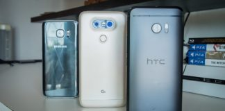HTC 10 vs Samsung Galaxy S7 / Edge vs LG G5