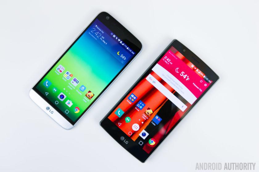 LG G5 VS LG G4-4