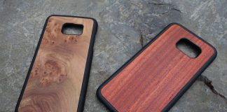 Cover-Up your phone with wood: S7 Edge Woodback case review