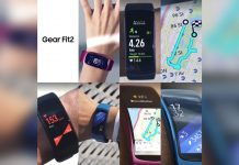 This is what Samsung's Gear Fit 2 (probably) looks like