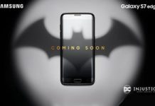 Batman special edition Samsung Galaxy S7 edge comes out of the shadows