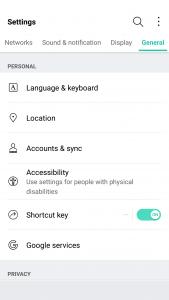 LG G5 Settings app 2