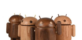 These awesome wooden Android figures will be available later this year