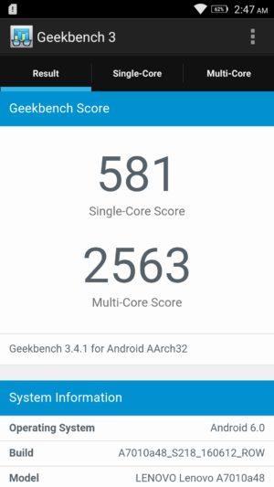 Lenovo K4 Note screenshot - benchmark-2