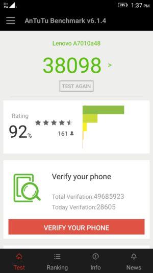 Lenovo K4 Note screenshot - benchmark-3