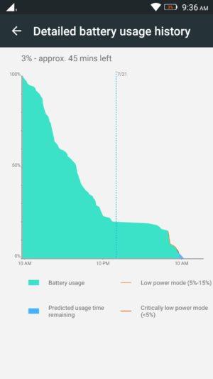 Lenovo K4 Note screenshot - battery-3
