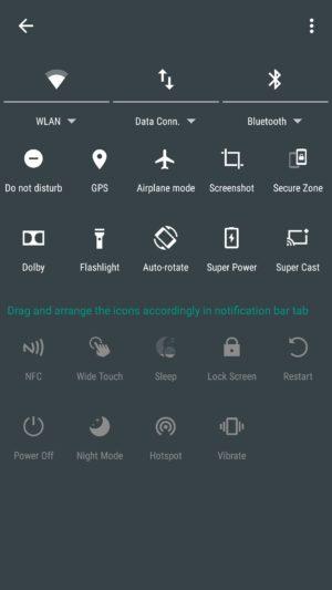 Lenovo K4 Note screenshot - software-9
