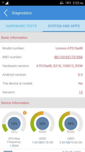 Lenovo K4 Note screenshot - software-11