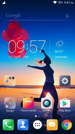 Lenovo K4 Note screenshot - software