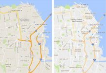 Google Maps Gets Cleaner Look and Orange 'Areas of Interest' Hotspots
