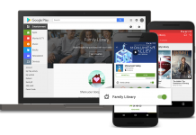 Google brings Family Library sharing to the Play Store