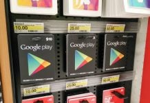 Where to buy Google Play gift cards