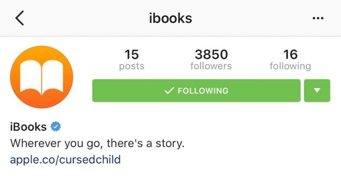 Apple Launches iBooks Instagram Page to Share Book Quotes, Reviews, and More