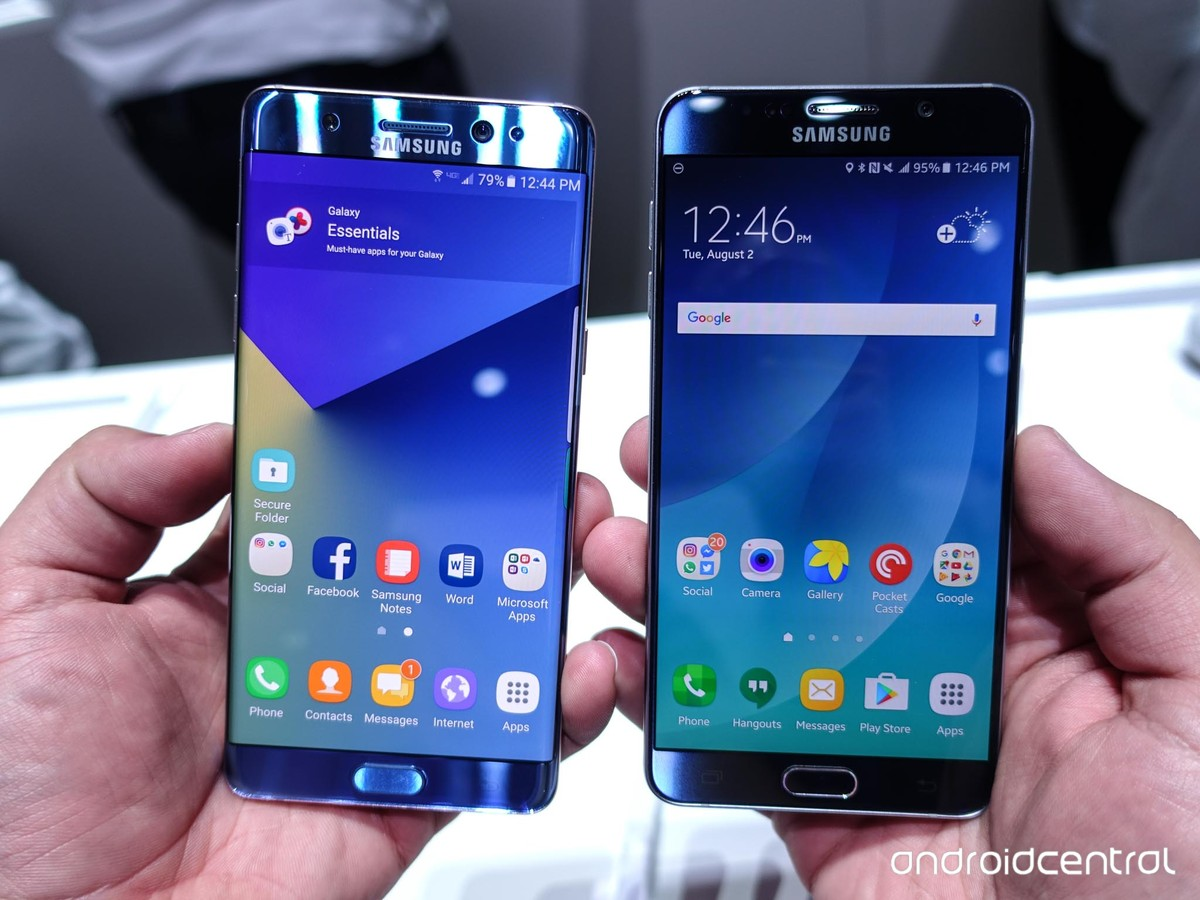 Samsung Galaxy Note 7 vs  Note 5: Should you upgrade? - AIVAnet
