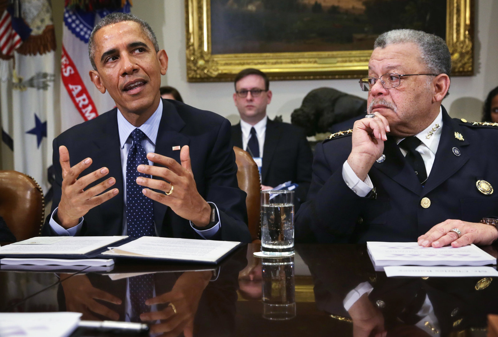 Obama Meets With Task Force On 21st Century Policing At White House