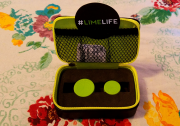 Lime Lens Case opened