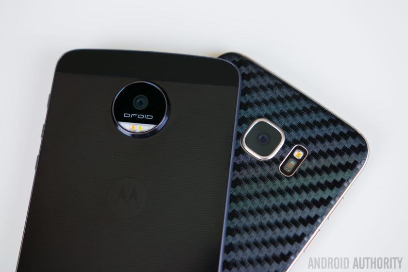 Motorola Moto Z vs Samsung Galaxy S7 Edge-1